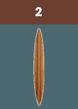 Strejček-Borkovany - Vyspravovací lodička 2 letokruhy