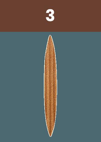 Strejček-Borkovany - Vyspravovací lodička 3 letokruhy
